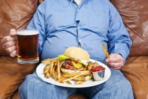 ожирение и алкоголь