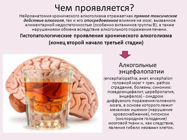 Признаки и симптоматика токсической энцефалопатии